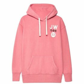 Jack Wills Homesworth Boyfriend Hoodie - Pink