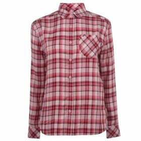 Jack Wills Ducklington Classic Check Shirt - Nude