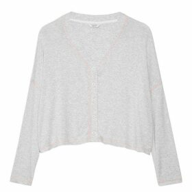 Jack Wills Levisham Lounge Cardigan - Grey Marl