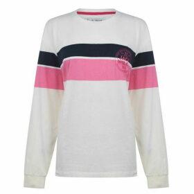 Jack Wills Abcott Long Sleeve Ski Graphic T Shirt - White