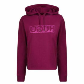HUGO Nenita Hooded Sweatshirt - Bright Purple