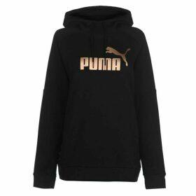 Puma Tape Hoodie Ladies - Black/RoseGold
