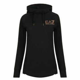 EA7 Core Hooded Sweatshirt - Black 1200