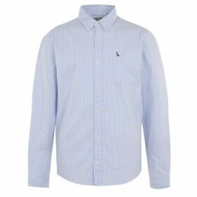 Jack Wills Wadsworth Stripe Oxford Shirt - Sky Blue