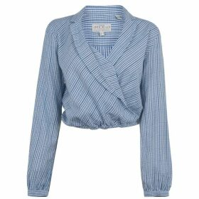 Jack Wills Mayflower Check Wrap Shirt - Blue