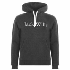 Jack Wills Batsford Heritage Hoodie - Charcoal