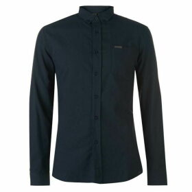 Firetrap Basic Oxford Shirt - Navy
