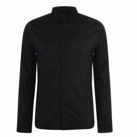 Firetrap Long Sleeve Shirt Mens - Navy
