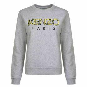 Kenzo Rose Logo Sweatshirt