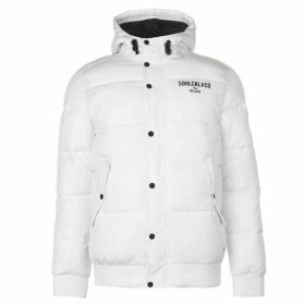 SoulCal Puffer Jacket Mens - White