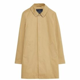 Jack Wills Dundraw Garment Washed Mac - Stone