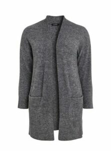 Grey Knitted Cardigan, Grey