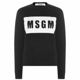MSGM Logo Box Sweater