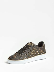 Guess Bolier Sneaker 4G Logo All Over