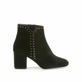 Veneto Studs Velvet Suede Boots