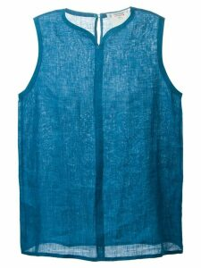Yves Saint Laurent Pre-Owned sleeveless blouse - Blue