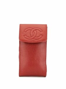 Chanel Pre-Owned CC coin pouch - Red