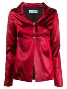 Dolce & Gabbana Pre-Owned 1990s notched collar jacket - Red