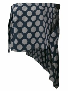 Maison Martin Margiela Pre-Owned 1990s polka dot top - Blue