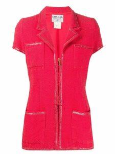 Chanel Pre-Owned 2005 tweed jacket - PINK