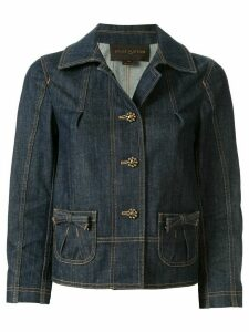 Louis Vuitton pre-owned long sleeve denim jacket - Blue