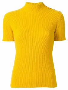 Chanel Pre-Owned 1996 cashmere buttoned knitted top - Yellow