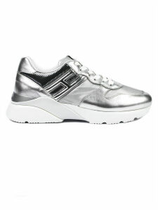 Hogan Silver Active One Sneakers