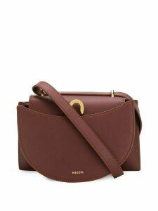 Yuzefi hobo front crossbody bag - Brown