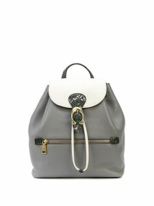 Coach Evie colour block backpack - Grey