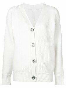 Victoria Victoria Beckham ribbed cardigan - White