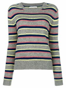 Chinti and Parker striped jumper - Grey