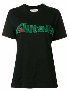 Alberta Ferretti embroidered T-shirt - Black