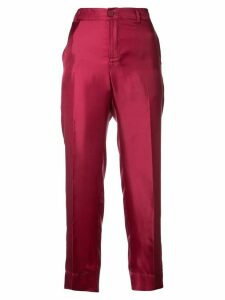 F.R.S For Restless Sleepers cropped fitted trousers - PINK