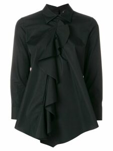 Dsquared2 ruffle front shirt - Black
