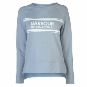 Barbour International Barbour Pitch Logo Sweater Womens