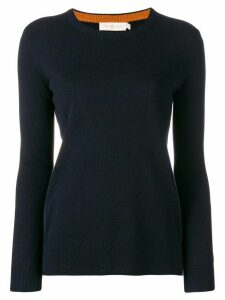 Tory Burch round neck sweater - Blue