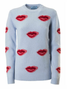 Prada Kiss Motif Sweater
