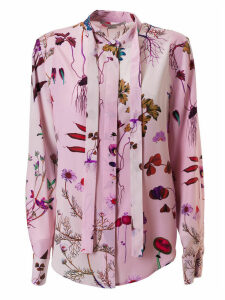 Stella McCartney Floral Print Detailed Shirt