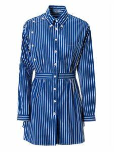 Prada Pinstripe Long-sleeve Buttoned Shirt