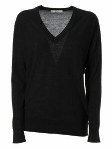 Givenchy V-neck Long-sleeved Jumper