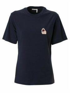 Chloé Chest Logo Print T-shirt