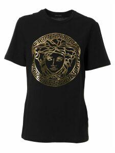 Versace Metallic Medusa Logo T-shirt