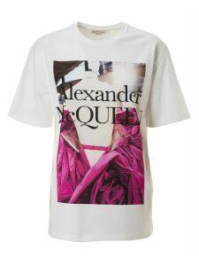 Alexander McQueen Logo Graphic Print T-shirt