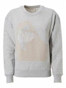 Chloé Logo Detail Sweatshirt