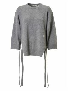 Chloé Side Laced Detail Oversized Pullover