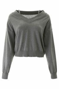 Maison Margiela Off-the-shoulder Sweater