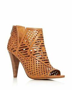 Vince Camuto Women's Allistan Peep-Toe High-Heel Booties