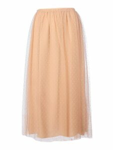 RED Valentino Tulle Long Skirt