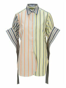 Jw Anderson Parasol Round Hem Exaggerated Sleeve Shirt