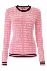 MSGM Monogram Sweater
